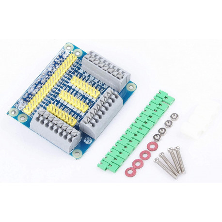GPIO Multi-function Expansion Board with Fixed Screw Nylon Column Jumper Cap for Raspberry PI 3 Model B