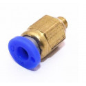 Pneumatic PT Thread Push In Connectors Fittings for 4mm Tube