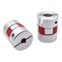 Acople elástico para eje 5x10 mm (1 unidad)
