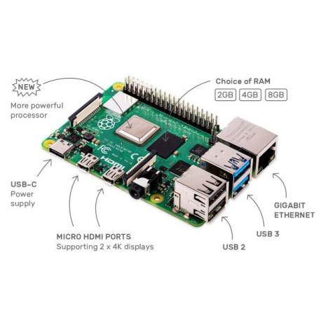 Raspberry Pi 4 Modelo B - 4GB RAM