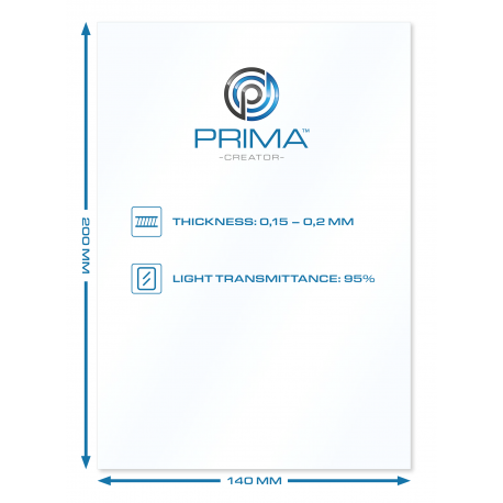Lámina Impresora resina LCD 5,5 FEP 100