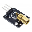 KY-008 650nm Laser sensor Module 6mm 5V
