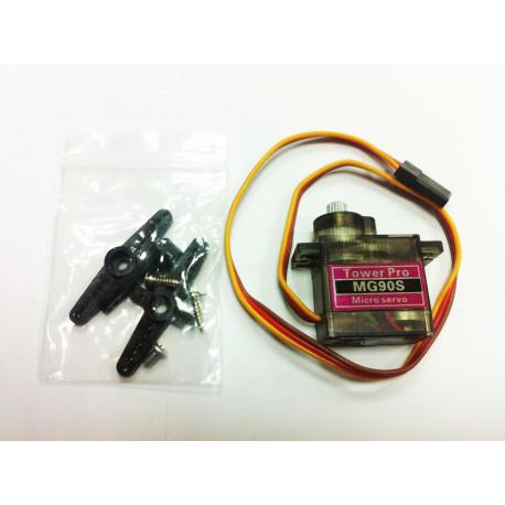 TowerPro MG90S Metal Geared Micro Servo 360º