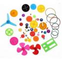 Kit de engranaje de plástico