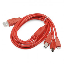 Sparkfun Cerberus USB cable