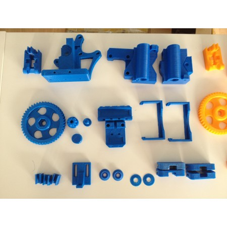 Plastic parts Kit for Prusa i3 Steel