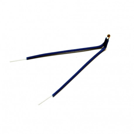 Fibreglass Sleeving for Insulating Thermistors (100mm)