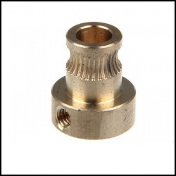 3D Printer Copper Gear Wheel 3mm