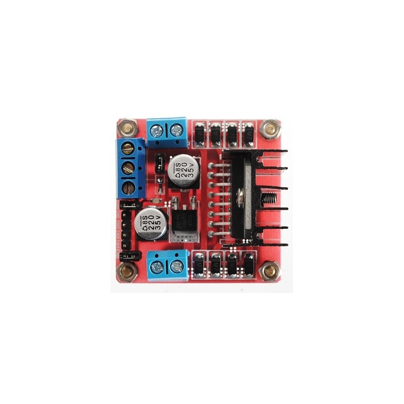 Dual H Bridge Dc Stepper Motor Drive Controller Board