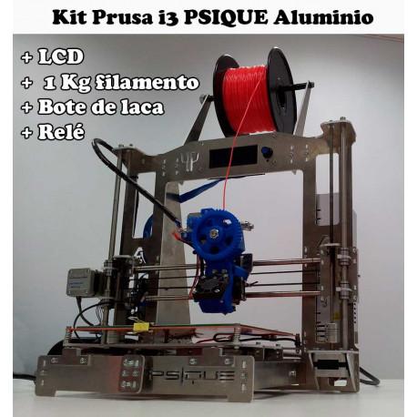 Kit Prusa i3 PSIQUE Steel Impresora 3D - Marco de Aluminio