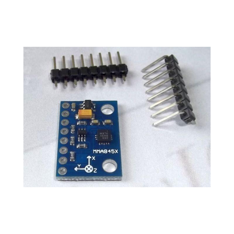 MMA8452 3-Axis Accelerometer, 14 bit precision