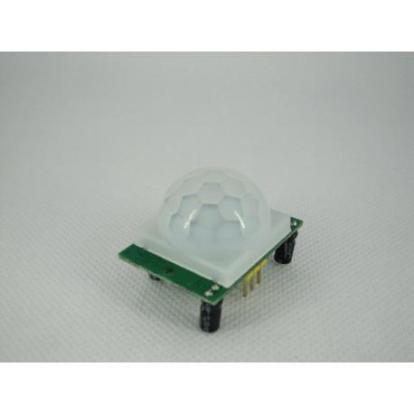 Sensor movimiento por infrarrojos HC-SR501 piroeléctrico