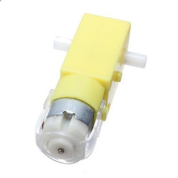 Smart Car Robot Plastic DC Drive Gear Motor