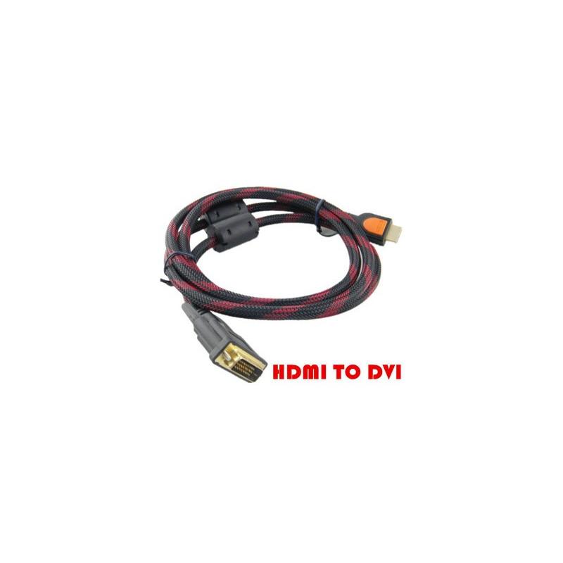 cable hdmi a dvi 1 5m