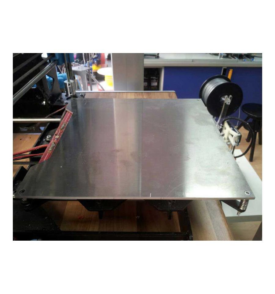 Plancha Placa Aluminio Para Cama Caliente