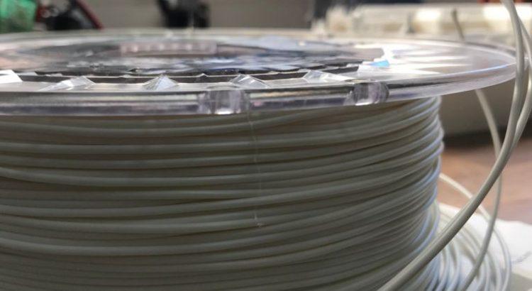 Nudo en la bobina de filamento